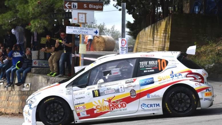 Salvatore Riolo, Massimiliano Alduina (Peugeot 208 R R5 #10, Cst Sport Srl)