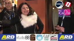 Un-ospite-d---eccezione-durante-la-DIRETTA-Radio-Panorama-a-Sanremo-Francesca-Alotta