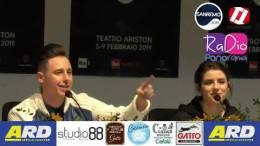 Speciale-Sanremo-Conferenza-Stampa-SHADE-e-FEDERICA-CARTA