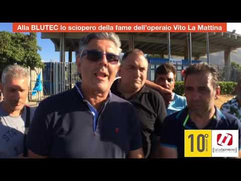 Vito-La-Mattina-inizia-lo-sciopero-della-fame-davanti-lo-stabilimento-BLUTEC