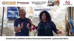 Comizio-del-candidato-sindaco-Francesco-Caratozzolo-a-piazza-Sant'Anna